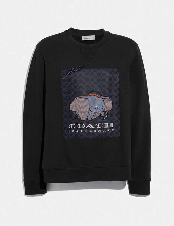 Disney x coach dumbo print sweatshirt ER ER 26
