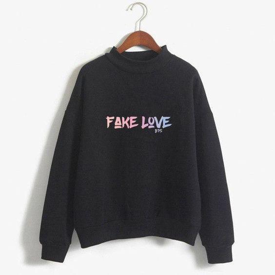 FAKE LOVE BTS Sweatshirt FD