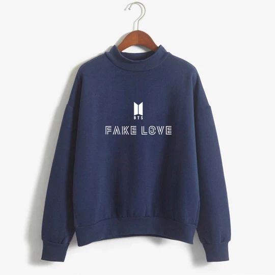 Fake Love Women Sweatshirt FD