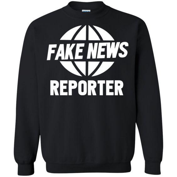 Fake News Reporter sweatshirt FD