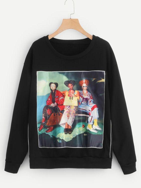 Figure Camisola Sweatshirt SR01