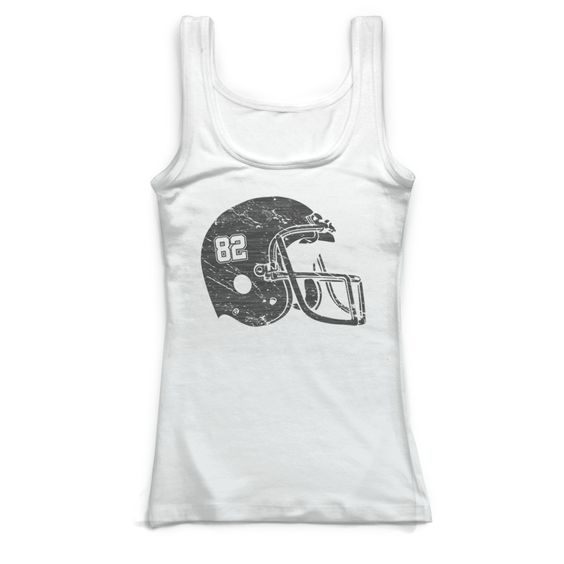 Football Helmet Tank Top SR01