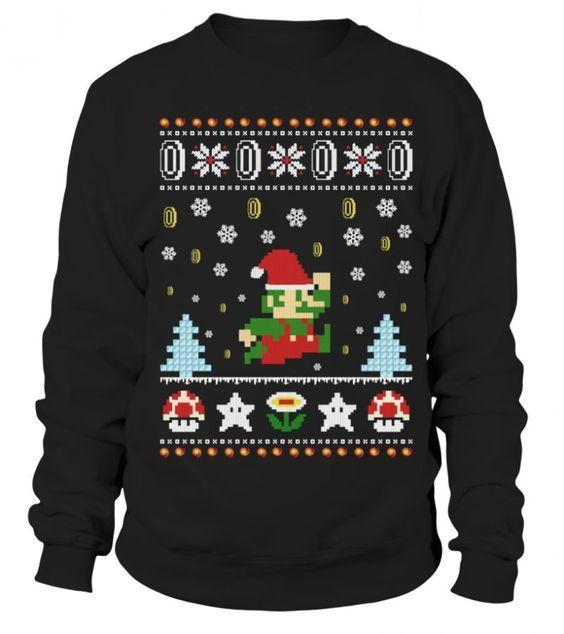 Games santa sweatshirt SR01