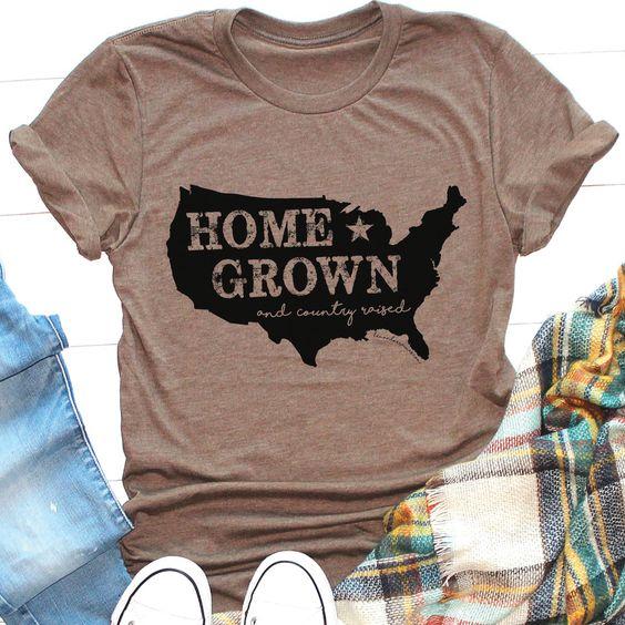 HOME GROWN USA Tee Shirt FD31