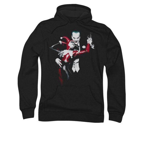 Harley Quinn The Joker Hoodie EL01