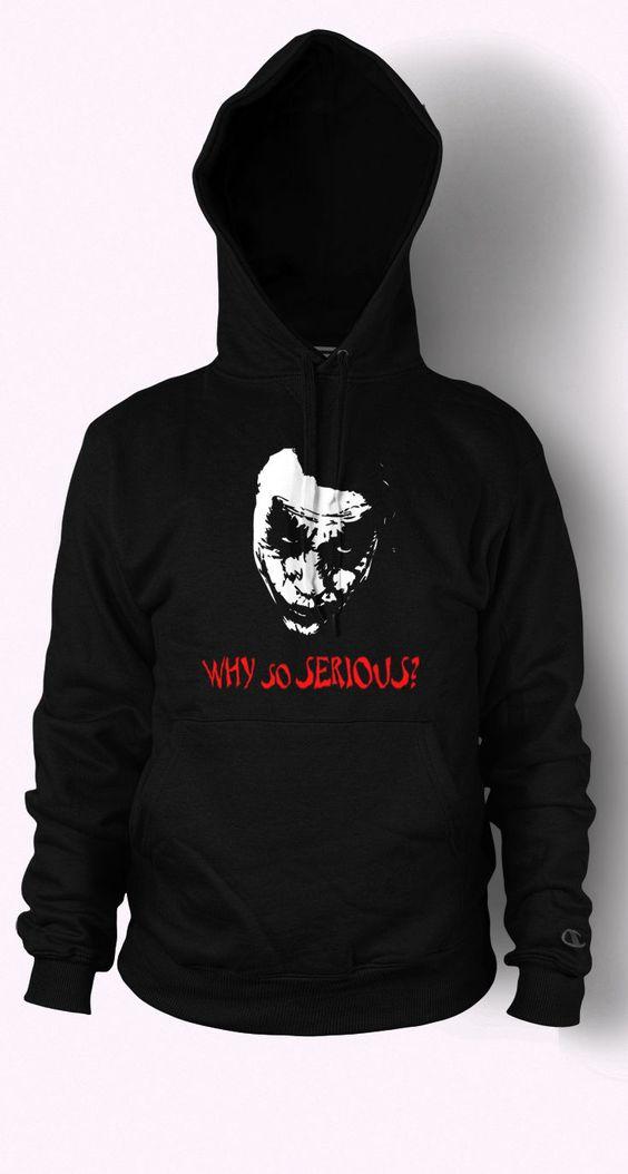 Joker Hoodie Why So Serious Hoodie AI01