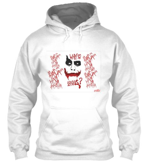 Joker Why So Serious Hoodie EL01