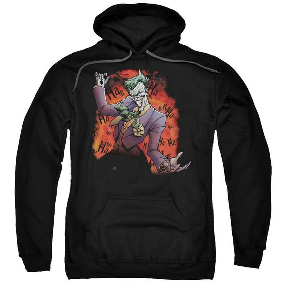Joker'S Ave Adult Pull Over Hoodie EL01