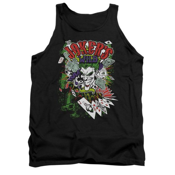 Jokers Wild Black Tanktop EL01