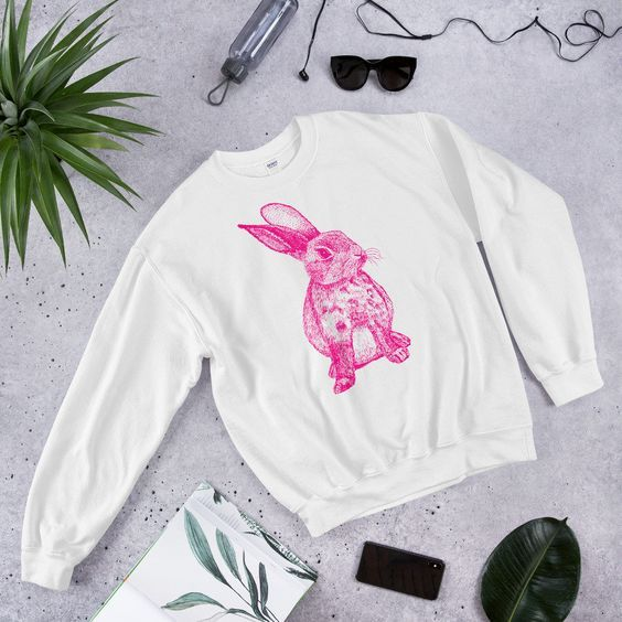 Pink Rabbit Sweatshirt SR01