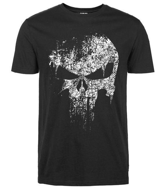 Punisher Skull T-Shirt FD01