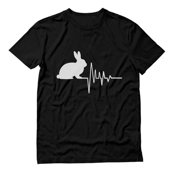 Rabbit Heartbeat T Shirt SR01