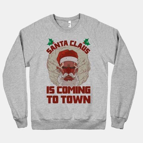 Santa Claus Is Coming Sweatshirt SR01