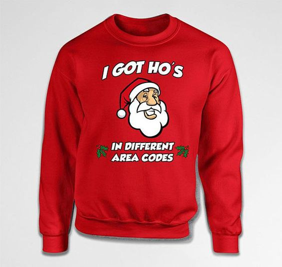Santa Claus Sweatshirt SR01