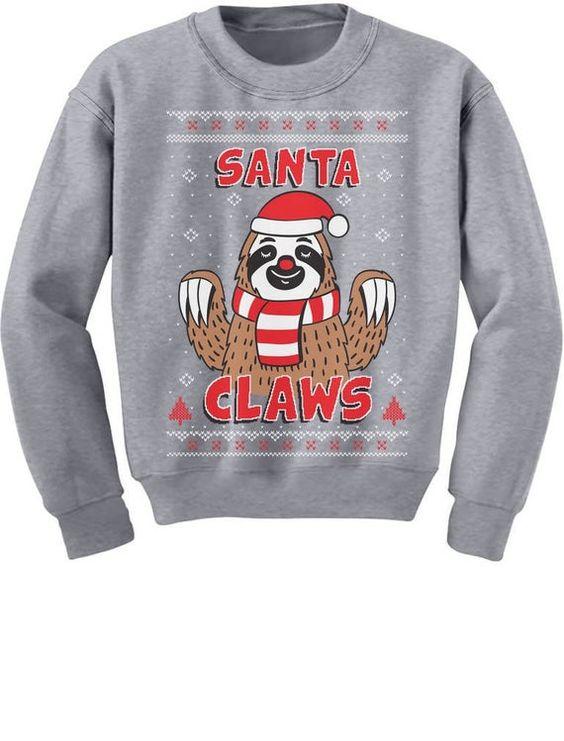 Santa Claws Sweatshirt SR01