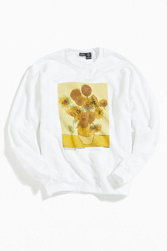Sunflowers Sweatshirt EM30