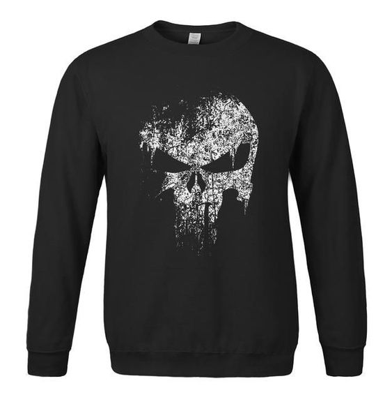 The Punisher Skull Sweatshirt FD01