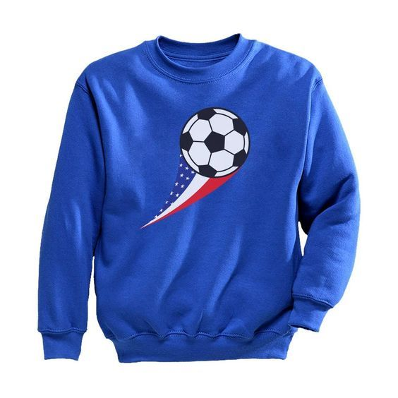 USA Soccer Ball Sweatshirt FD01