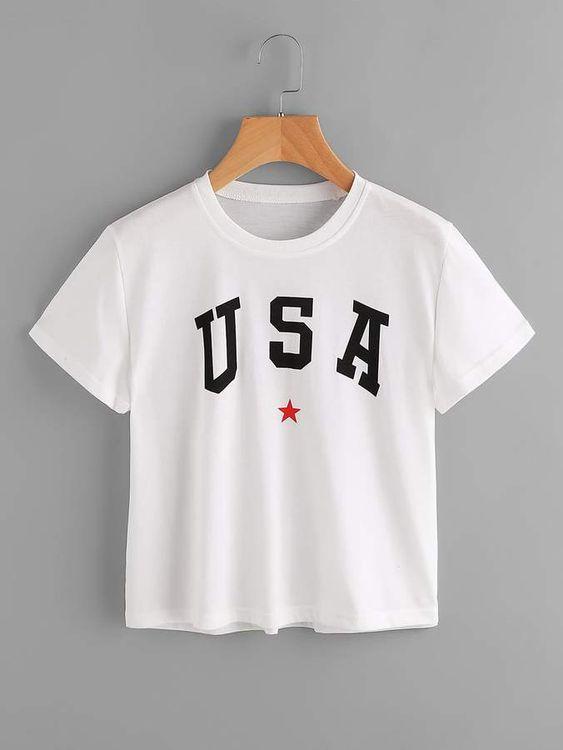 USA T-shirt AI01