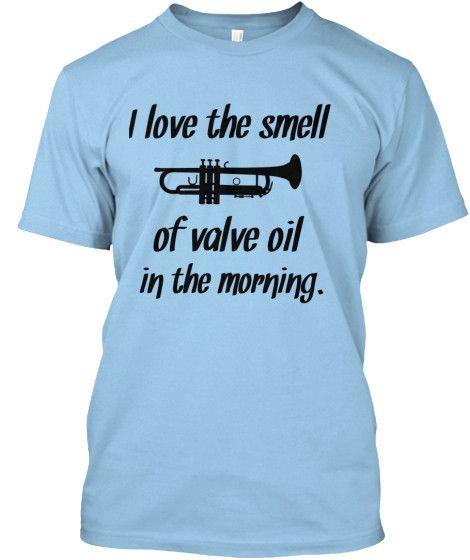 valve oil in the morning T-shirt ER01