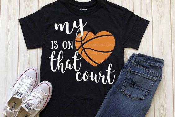 vintage basketball svg T-shirt ER01