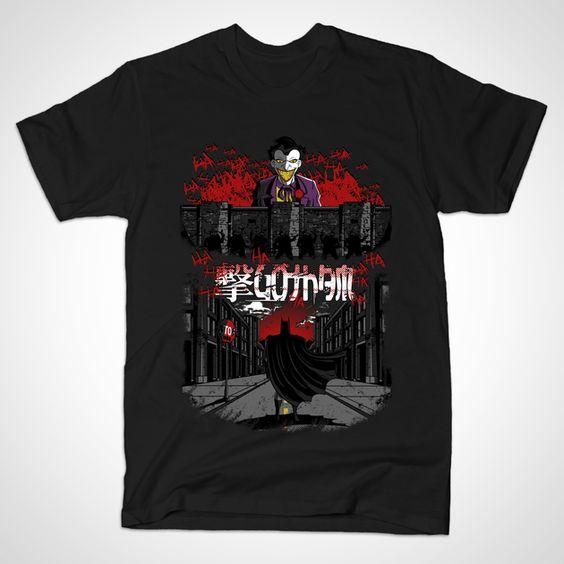 ATTACK ON GOTHAM T-Shirt N28AR