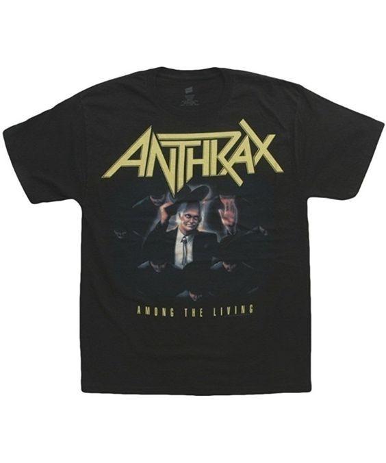 Anthrax Band T-shirt SR2N