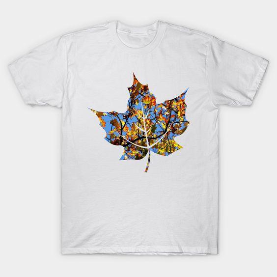 Autumn leaf T Shirt SR4N