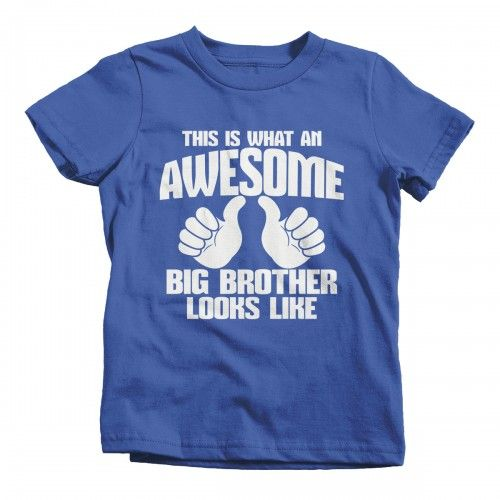 Awesome Big Brother T-Shirt N19PT