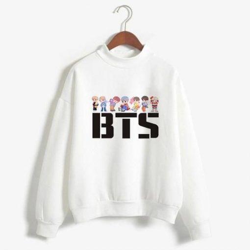 BTS K POP Sweatshirt AZ30N