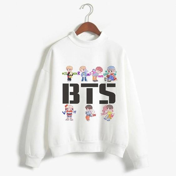 BTS Sweatshirt AZ30N