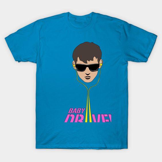 Baby Driver Tshirt EL8N
