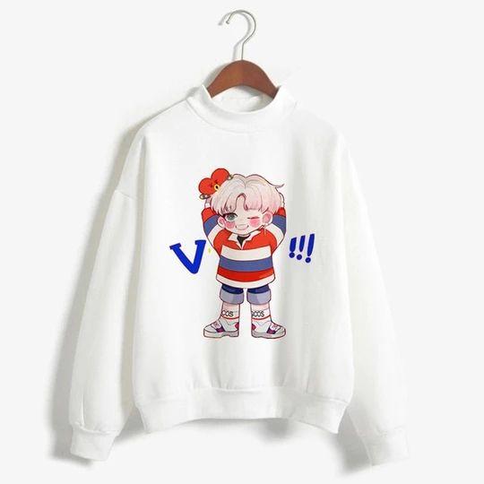 Bangtan Boys V Sweatshirt AZ30N