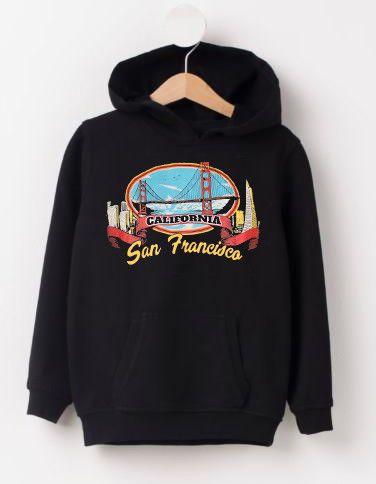 California San Frascisco Hoodie VL28N