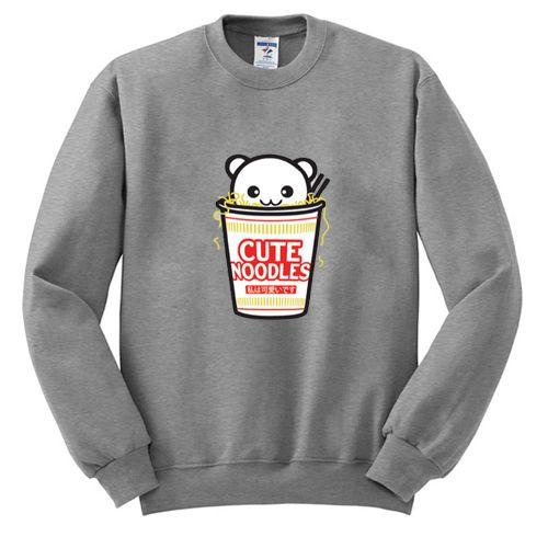 Cute Noodles Sweatshirt EM30N