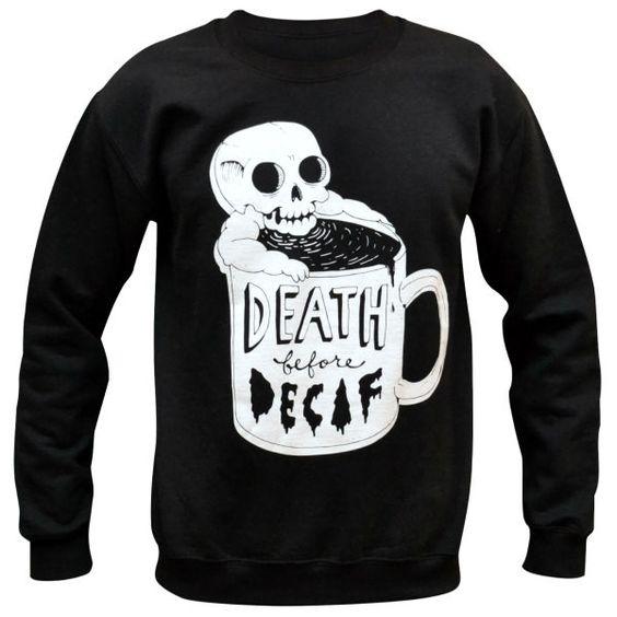 Death Sweatshirt EM30N