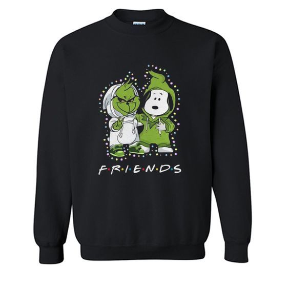 Friends Light Christmas Sweatshirt VL28N