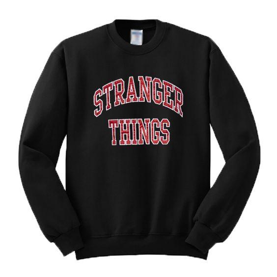 Stranger Things Crewneck Sweatshirt VL28N