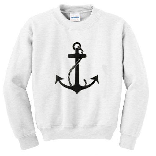 Stylish Anchor Sweatshirt ER30N
