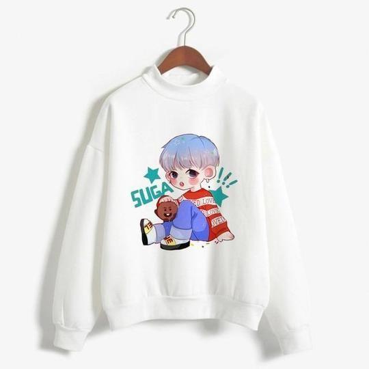 Suga BTS Sweatshirt AZ30N