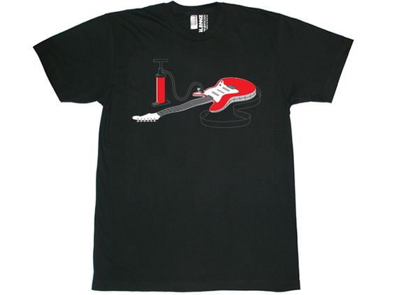 AIR GUITAR T-Shirt DN24D