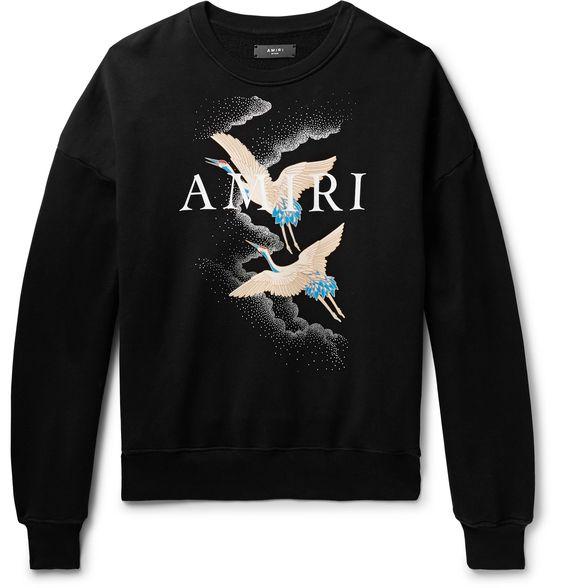 AMIRI Black Sweatshirt VL3D