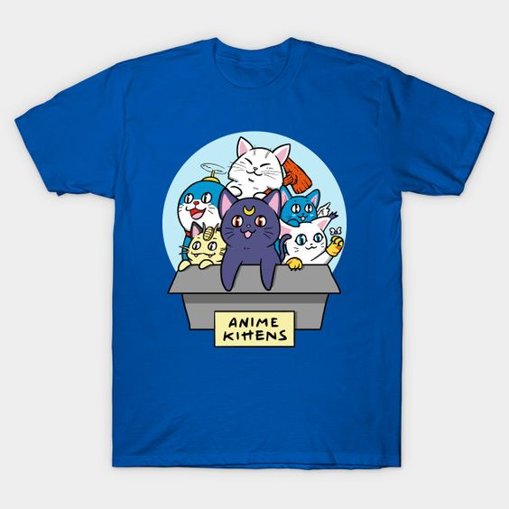 Anime Kittens T-Shirt RS30D