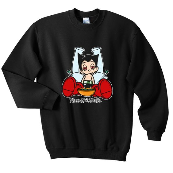 Astro boy blazed Sweatshirt VL3D