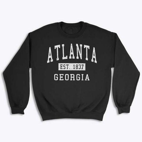 Atlanta Georgia Classic Sweatshirt VL3D