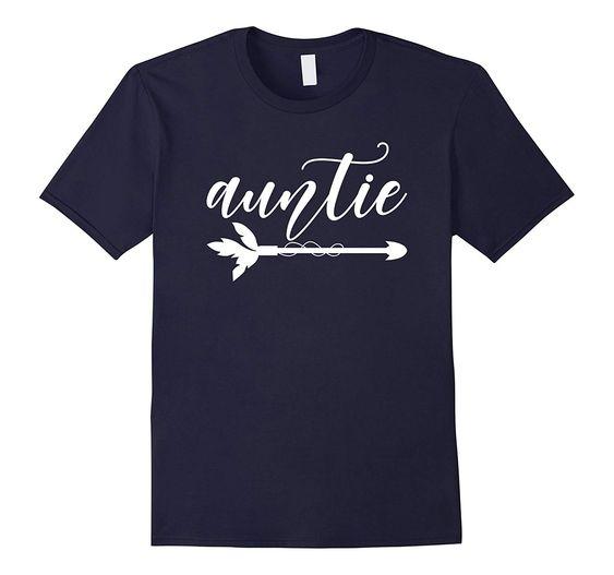 Auntie Arrow Pun T-Shirt ND26D