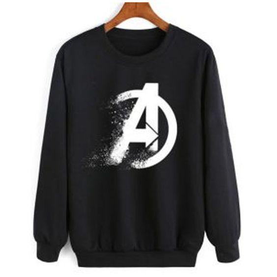 Avengers Endgame Logo Sweatshirt VL3D