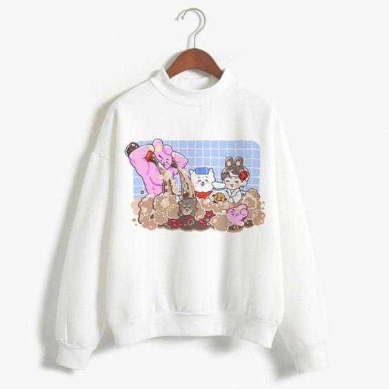 BT21 Fashion Sweatshirt AZ5D