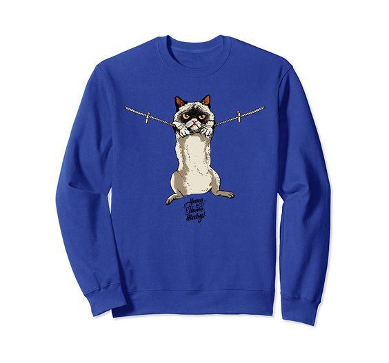 Baby Cat Sweatshirt AZ5D