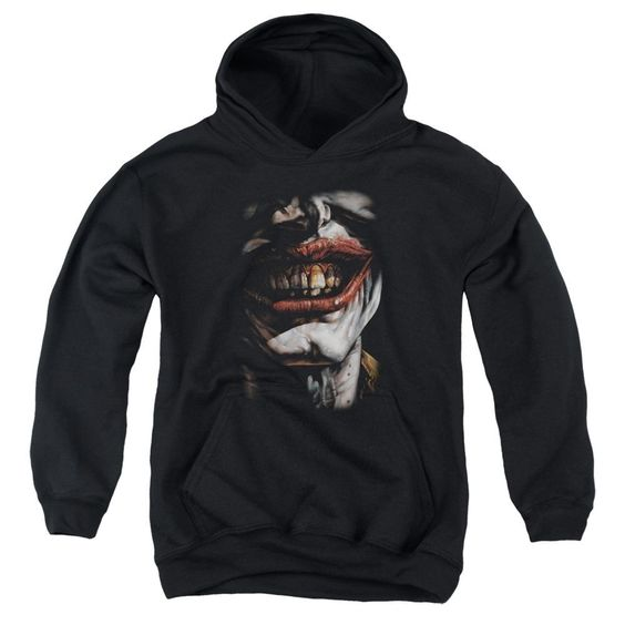 Batman Smile Of Evil Hoodie ER7D
